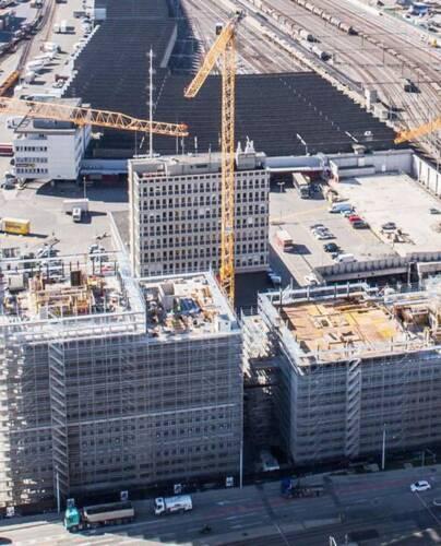 Bâtiments de bureaux / résidentiel Suisse